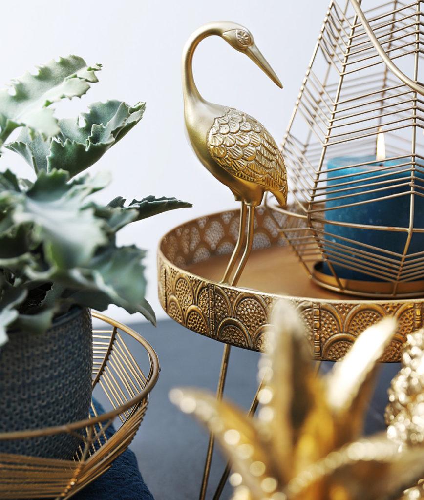 Fetez L Arriere Saison Avec De L Or Mica Decorations